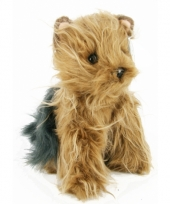 Yorkshire terrier knuffel 24 cm trend