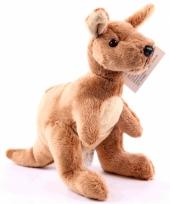 Zachte knuffel kangoeroe 19 cm trend