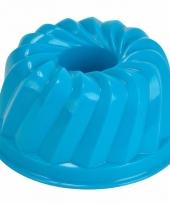 Zandvorm gebakje blauw trend