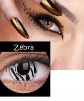 Zebra feestlenzen trend