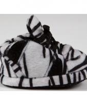 Zebra pantoffeltjes zwart wit voor babies trend
