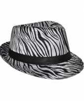 Zebra print hoeden trend