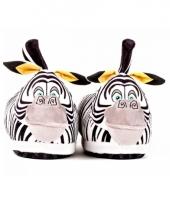 Zebra sloffen voor volwassenen trend