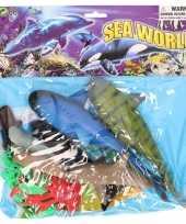 Zeedieren oceaan dieren speelgoed 12 delig trend