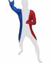 Zentai pak franse vlag trend