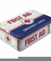 Ziekenhuis dokters first aid doos trend