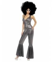 Zilveren glitter outfit voor dames trend