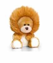 Zittende beer in leeuwen onesie 14cm trend