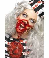 Zombie latex make up set trend