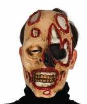 Zombie masker voor horror themafeest trend