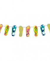 Zomerslinger met slippers 10 meter trend