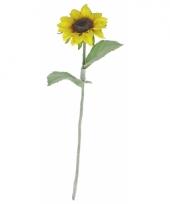 Zonnebloemen decoratie 38 cm trend