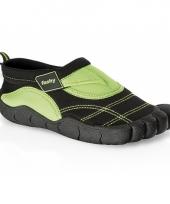 Zwart groene waterschoenen voor kinderen trend