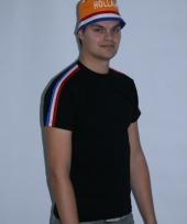 Zwart holland shirt rrd wit blauw trend