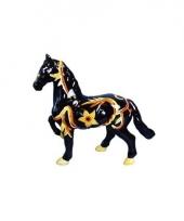 Zwart paard meisjes spaarpot trend