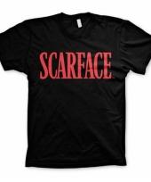 Zwart scarface t-shirt trend
