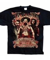 Zwart ya basta t-shirt trend