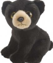 Zwarte beer knuffels 18 cm trend