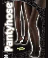 Zwarte glitter panty voor vrouwen trend