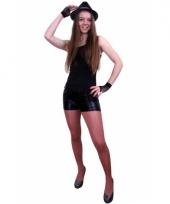 Zwarte hotpants dames trend 10064679