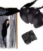 Zwarte kamer versiering pakket trend