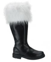 Zwarte kerstman laarzen trend