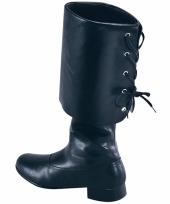 Zwarte laarzen piraat trend