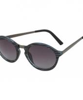 Zwarte model 2180 replica zonnebril trend