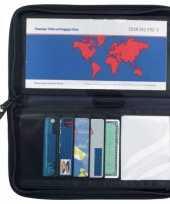 Zwarte paspoorthouder trend