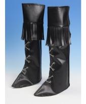 Zwarte schoenhoezen hoog trend