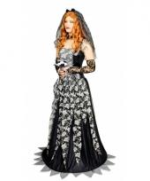 Zwarte weduwe trouwjurk trend