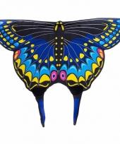 Zwarte zwaluwstaartvlinder vleugels voor kids trend