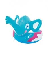 Zwemband olifant blauw trend