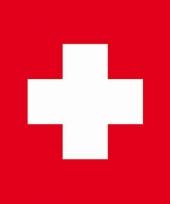 Zwitserse vlag servetten 20 stuks trend